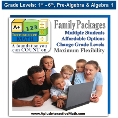 Family Math Package