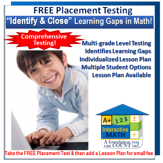 Free Math Placement Test - Homeschool