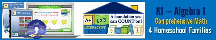 A+ Interactive Math - Building a Foundation You can COUNT on!